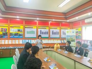 ต้อนรับโรงเรียนสวนกุหลาบวิทยาลัย ชลบุรี ศึกษาดูงานเศรษฐกิจพอเพียง